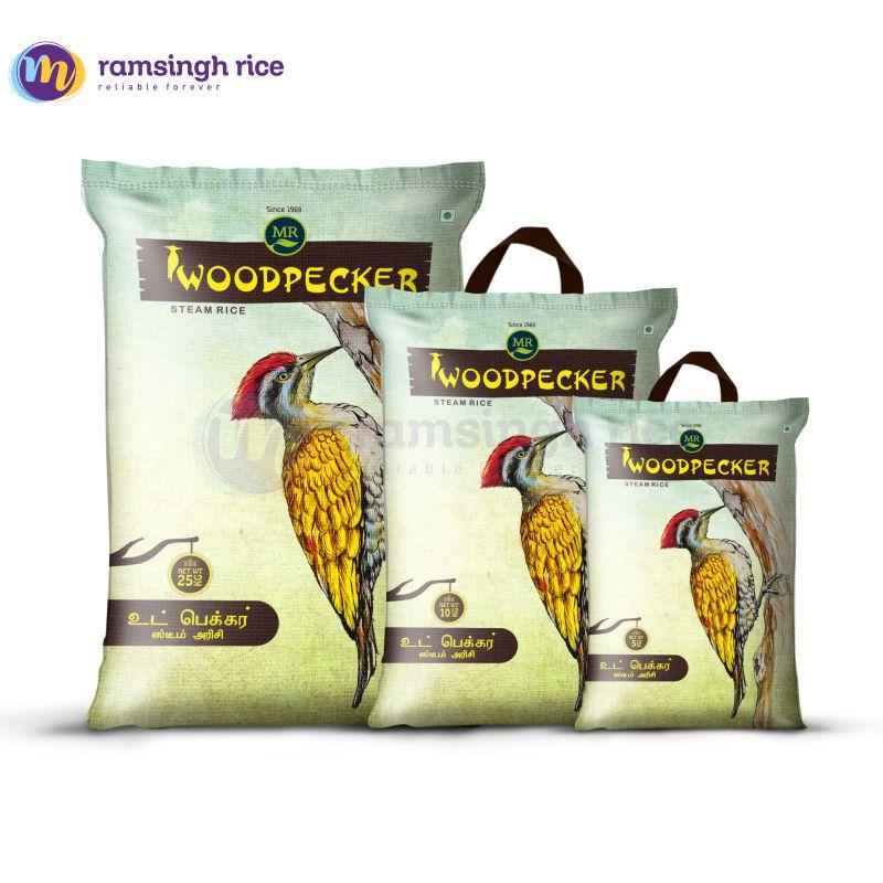 Woodpecker Sona Steam Rice – வுட்பேக்கர் கர்நாடக பொன்னி