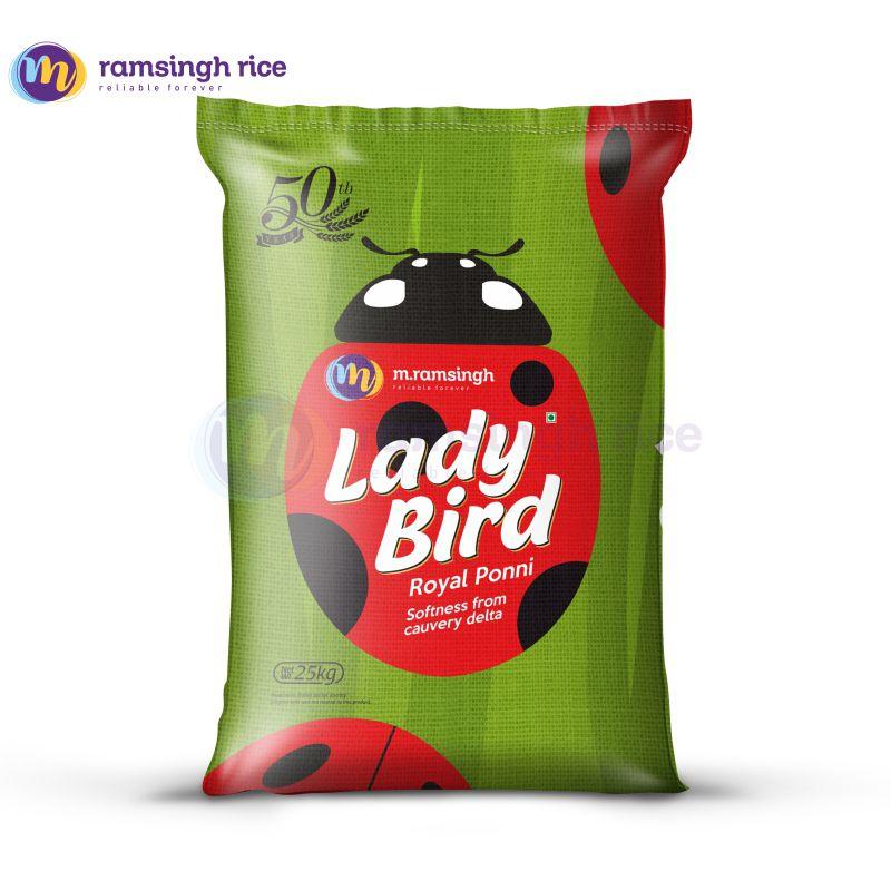 Lady Bird Royal Ponni –  லேடி பேர்ட் ராயல் பொன்னி அரிசி