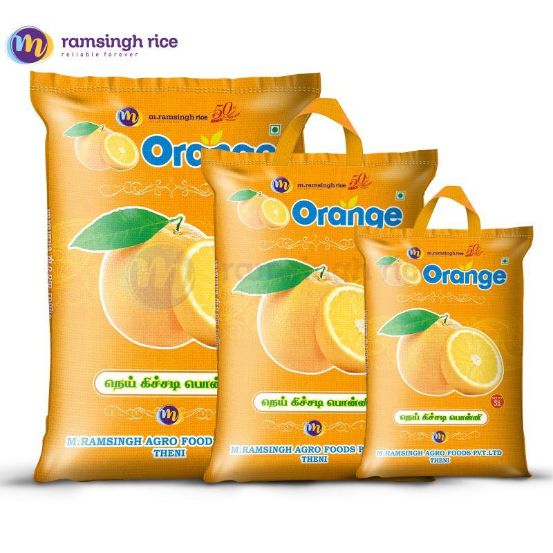 Orange Nei Kichadi Ponni – ஆரஞ்சு நெய் கிச்சடி பொன்னி